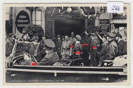 266, Fotokarte Dortmund Adolf Hitler Kommt Aus Dem Hotel Zum Römischen Kaiser , Selten ! - Guerre 1939-45