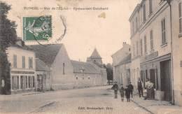 RUNGIS - Vue De L'Eglise - Restaurant Guichard - Rungis
