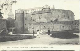CPA DE BOULOGNE-SUR-MER  (PAS DE CALAIS)  VUE D'ENSEMBLE DU CHÂTEAU - Boulogne Sur Mer