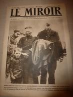 1919 LE MIROIR:Crime Contre Les Belges;Navire GEORGE WASHINGTON;Kurtendil(Bulg);Paquebots ELBERFELD Et MAURETANIA;etc - Revues & Journaux