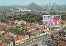 Carte  Maximum  1er  Jour   FRANCE     Région  :   NORD  -  PAS  DE  CALAIS      LILLE    1975 - Cartes-Maximum