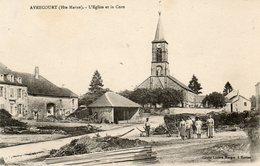 CPA - AVRECOURT (52) - Aspect Du Quartier De L'Eglise Et De La Cure Dans Les Années 20 - France
