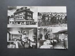 Echtfoto AK Hotel International St. Vith Belgien 1977 Mehrbildkarte - Hotels & Gaststätten