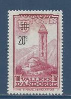 Andorre Français - YT N° 46 - Neuf Avec Charnière - 1935 - Andorre Français