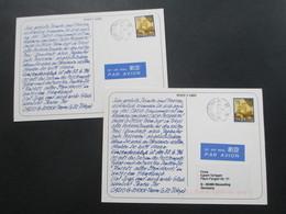 Echtfoto AK Werbepostkarte Casio G-Shock Team Zur Zeit Tokyo. Fujiyama 2 Karten - Werbepostkarten