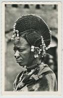2 Cartes Postales. Niger. Coiffure De Femme Peule. Dahomey. Chasseur Somba. - Niger