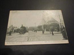 Post Card - Big Four Station Danville - Published Expressly For S.H. Knox & Co. (gare - Train) - Etats-Unis