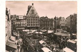 Lille - La Grand Place - Le Marché -  CPSM ° - Lille
