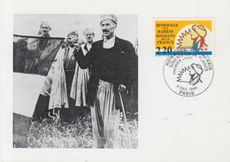 Carte  Maximum   1er  Jour   FRANCE   Hommage  Aux   Harkis   1989 - Cartes-Maximum