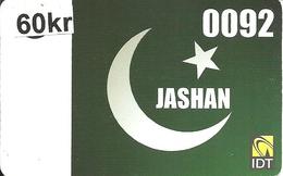 Norway Prepaid: IDT Jashan - Norwegen