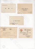 29723 CHINA 3 PIECES BUSINESS CARDS 1 PIECE ENVELOPE WITH CARD NANCHANG HANKOW TIENTSIN - Documenti Storici