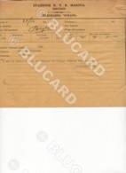 29724 CHINA TELEGRAM 1940 ? TIETSIN STAZIONE MARINA OCEANO FROM ITALY - Documenti Storici