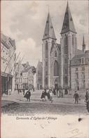 Dendermonde Termonde L' Eglise De L' Abbaye Kerk Der Benedictijnen Abdij Des Bénédictins (In Goede Staat) 1903 - Dendermonde