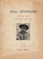 Thématiques Guerre 1939 1945 Scout De France Martyr Des Bagnes Nazis Alain Bourgine 1922 1945 Cahier D'Amitié - War 1939-45