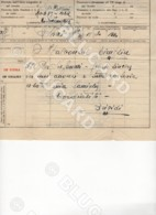 29727 CHINA TELEGRAM 1939 TIENTSIN FROM ITALY SHIP COLLEONI - Documenti Storici