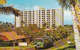Hawaii Lahaina Hotel With Kaanapali Resort Jitney Trolley 1975 - Maui