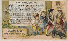 Chromo  H.Laas 591 Comptine : Cadet Rousselle - Poulain