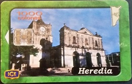 Telefonkarte Costa Rica - Heredia - Architektur - Costa Rica