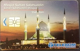 Telefonkarte Malaysia - Moschee - Malaysia