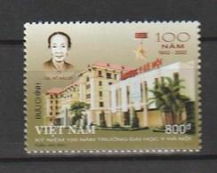 Vietnam 2002 The 100th Anniversary Of Hanoi Medical University 1v NH - Viêt-Nam
