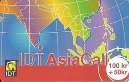Norway Prepaid: IDT Asia Call - Norway