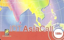 Norway Prepaid: IDT Asia Call - Norwegen