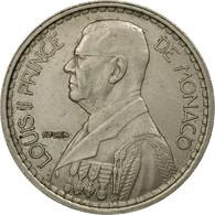 Monnaie, Monaco, Louis II, 20 Francs, Vingt, 1947, TTB, Copper-nickel - Monaco