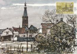 Netherlands 1965 Maxicard Scott #B401 40c + 10c Medemblik - Cartes-Maximum (CM)