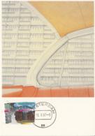Netherlands 1987 Maxicard Scott #711 65c International Year Of Shelter For The Homeless - Cartes-Maximum (CM)