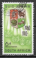 1960 6d Coat Of Arms, Used - Zuid-Afrika (...-1961)