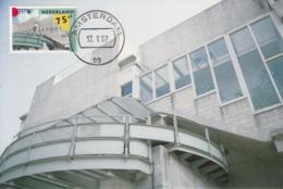 Netherlands 1987 Maxicard Scott #716 75c Montessori School, Amsterdam EUROPA - Cartes-Maximum (CM)