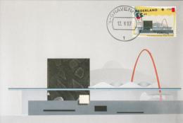 Netherlands 1987 Maxicard Scott #715 55c Scheveningen Dance Theater EUROPA - Cartes-Maximum (CM)