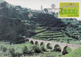 Madeira 1984 Maxicard Scott #94 51e EUROPA 25th Anniversary - Madère