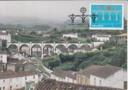 Azores 1984 Maxicard Scott #344 51e EUROPA 25th Anniversary - Açores