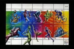 AUSTRALIA - 2000 OLYMPIC GAMES SHEETLET  MINT NH - Blocchi & Foglietti