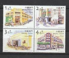 MACAU 2001 Scott 1074Stores Block Of 4 NH - 1999-... Región Administrativa Especial De China