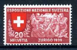 1939 SVIZZERA N.324 * - Svizzera