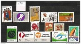 AUSTRALIA 1975 - Various Stamps Year 1975 12v - ** MNH Neuf Cv ±€5,70 K129a - Australien