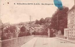 ST CLAIR SUR EPTE - Rue Rouget De L'Isle - France