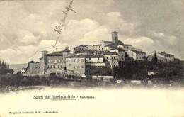 MONTECASTELLO - PANORAMA / A 262 - Pisa