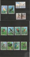 SAMOA  Oiseaux/ Birds  Années 1988/91 N°Y/T: 658/67-686/89-702/03-724/27** Côte: 65,00 € - Samoa