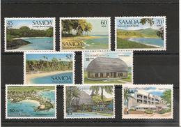 SAMOA  Paysages Et Tourisme Années 1987/90 N°Y/T: 632/35-715/18** - Samoa