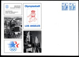 OLYMPIC GAMES LOS ANGELES 1984 Germany PU232 B2/002 - Ete 1984: Los Angeles