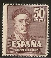 Edifil 1016 ** Mnh   Zuloaga   1947 Fantasía Privada De Color   NL890 - 1931-50 Neufs
