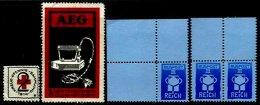 GERMANY, Cinderellas, (*)/* MNG/MLH, F/VF - Deutschland