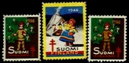FINLAND, Cinderellas, * MLH, F/VF - Sonstige