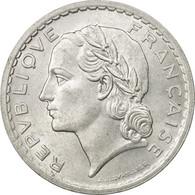 Monnaie, France, Lavrillier, 5 Francs, 1950, Paris, SUP, Aluminium - France