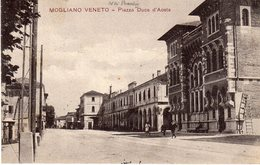 Treviso - Mogliano Veneto - Piazza Duca D'Aosta - - Treviso