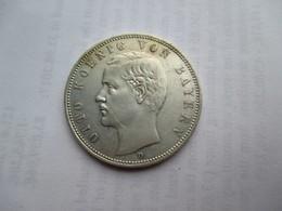 Bavaria, 5 Mark, 1907 Otto. - 2, 3 & 5 Mark Zilver