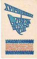 Venezia - XVII Esposizione Biennale Internazionale D'Arte Venezia 1930 - VIII - - Venezia